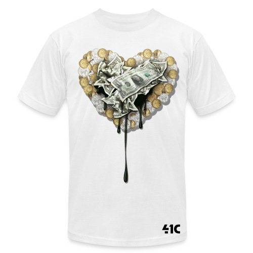 the-love-of-money - Men's T-Shirt by American Apparel
