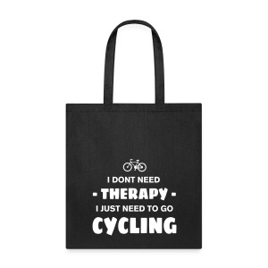 Cycling Therapy - Tote Bag