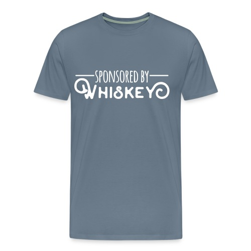Sponsored by Whiskey - Men's Premium T-Shirt