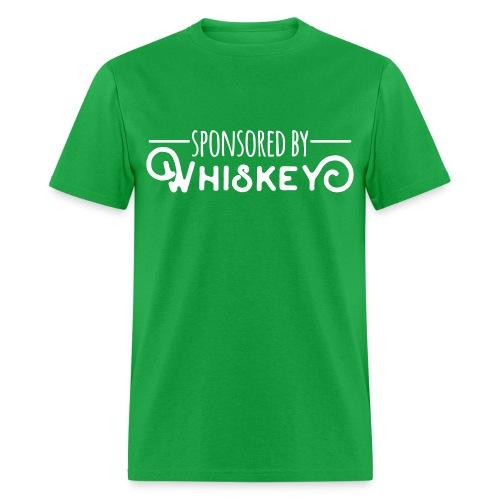 Sponsored by Whiskey - Men's T-Shirt
