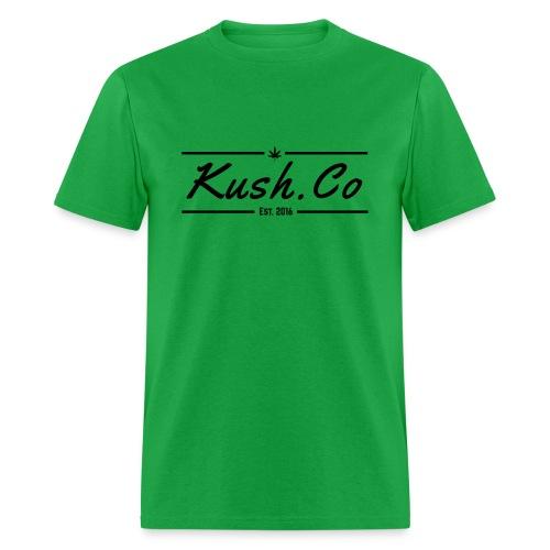 Kush.co Banner T-shirt - Green - Men's T-Shirt