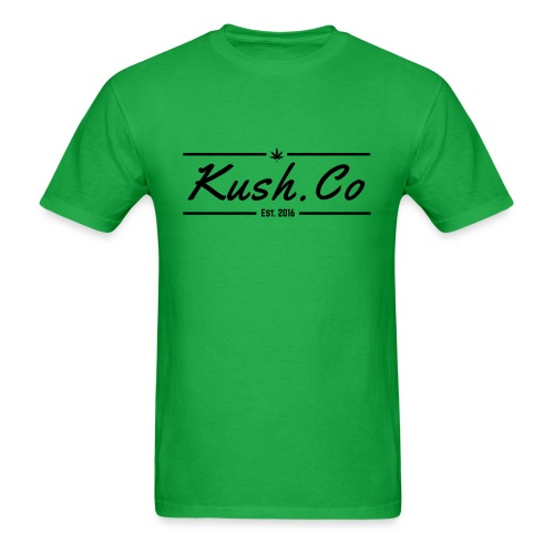Kush.co Banner T-shirt - Green - Men's T-Shirt