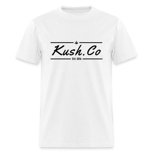 Kush.co Banner T-shirt - White - Men's T-Shirt