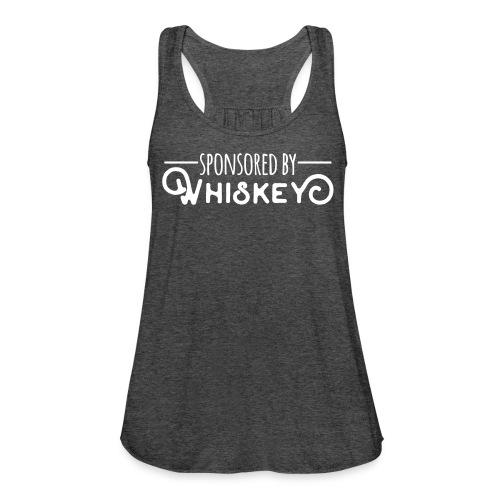 Sponsored by Whiskey - Women's Flowy Tank Top by Bella