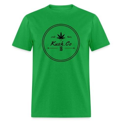 Kush.co Circle Seal T-shirt - Green - Men's T-Shirt
