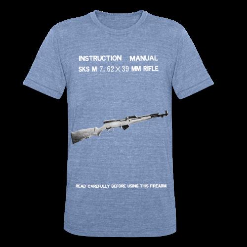 Norinco SKS Vintage Manual T-shirt - Unisex Tri-Blend T-Shirt