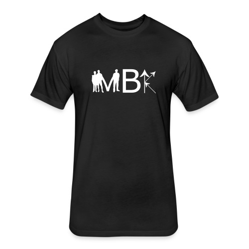 MBK front with back lettering - Fitted Cotton/Poly T-Shirt by Next Level