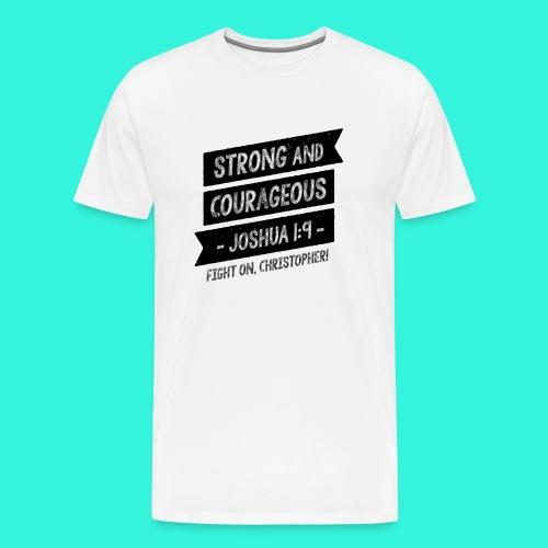 Men's T-Shirt (White) - Men's Premium T-Shirt