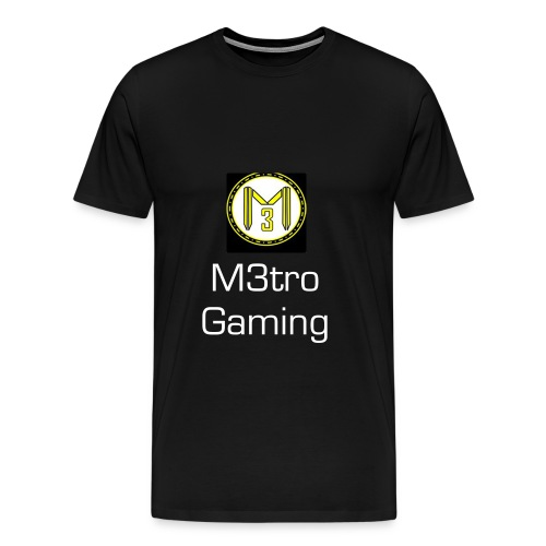 M3tro Gaming T- SHIRT - Men's Premium T-Shirt