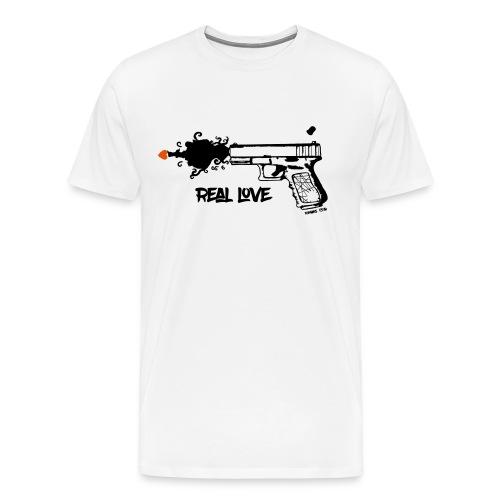 Real Love Mens - Men's Premium T-Shirt