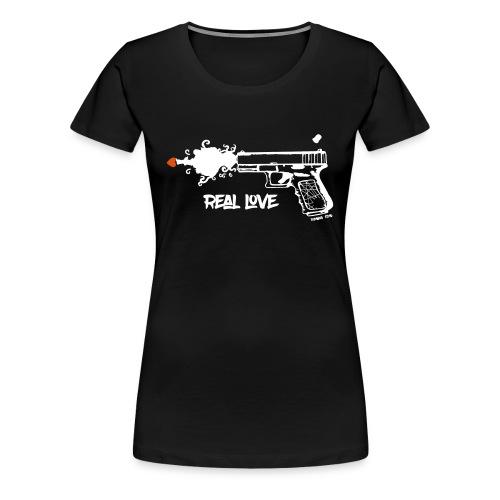 Real Love Womens - Women's Premium T-Shirt