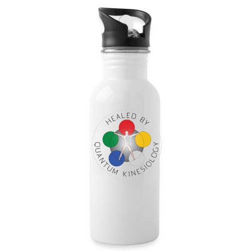 Healed by Quantum Kinesiology water bottle  - Water Bottle