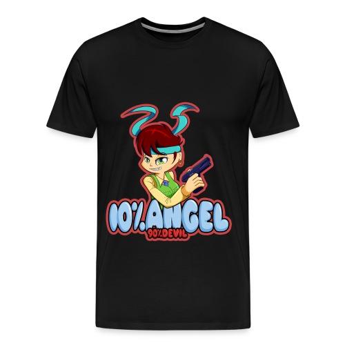 10% Angel... (Mens) - Men's Premium T-Shirt