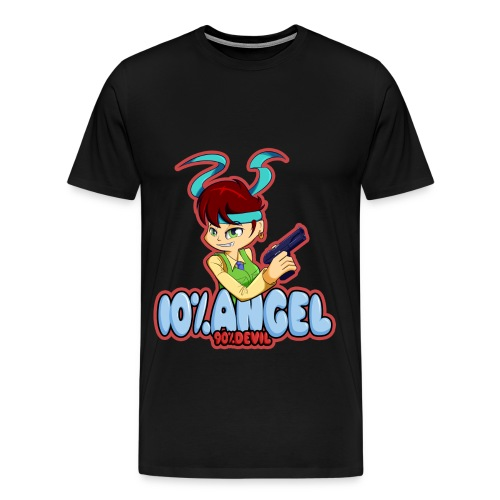 10% Angel... (Mens) - Men's Premium T-Shirt