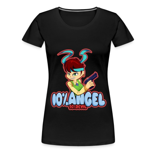 10% Angel... (Womens) - Women's Premium T-Shirt