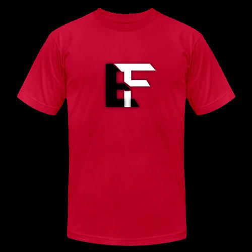 EnochsFilm Pink T-Shirt with EF Logo! By XavierThus - Men's Fine Jersey T-Shirt