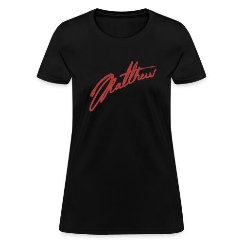 Autograph T-Shirt  - Women's T-Shirt