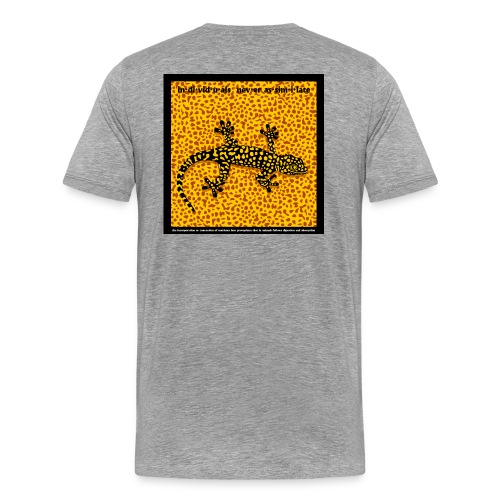 Never Assimilate - Men's Premium T-Shirt