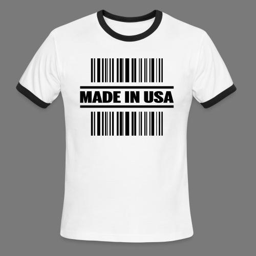 MADE IN USA - Men's Ringer T-Shirt