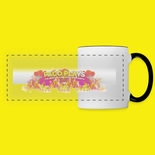PacoPlays Potato Army Men shirt - Panoramic Mug