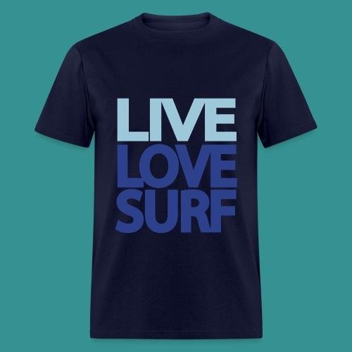 East Tide Live Love Surf T-Shirt  - Men's T-Shirt