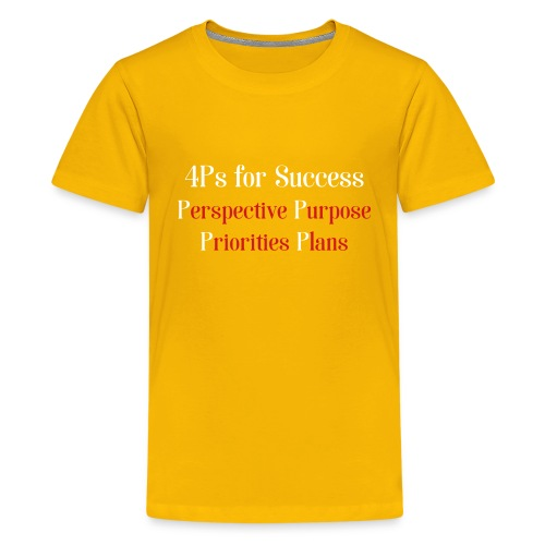 4Ps for Success - Kids' Premium T-Shirt