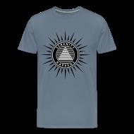 T-Shirts ~ Men's Premium T-Shirt ~ Serenity Happens™ Blurred Lines