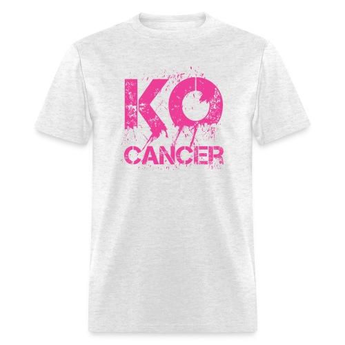 KO Cancer -  Men's T-Shirt - Men's T-Shirt
