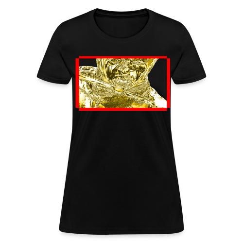 Women's Gold Swordsman Betachamp 3 - Women's T-Shirt