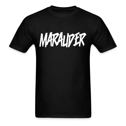 MARAUDER (With Customizable back text) - Men's T-Shirt