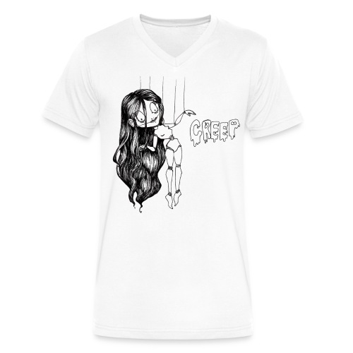 Creep - Men's V-Neck T-Shirt by Canvas