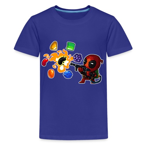 Kids t-shirt Deadpool vs. Candy - Kids' Premium T-Shirt