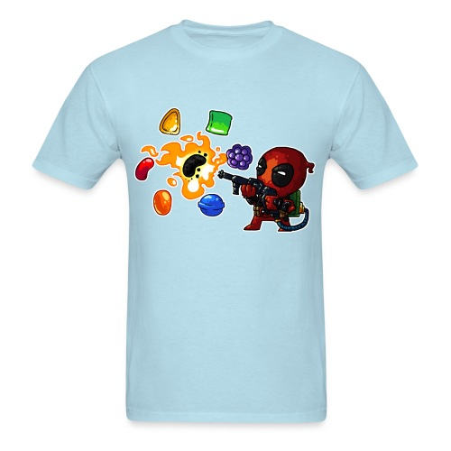 Men's T-shirt Deadpool vs. Candy - Men's T-Shirt