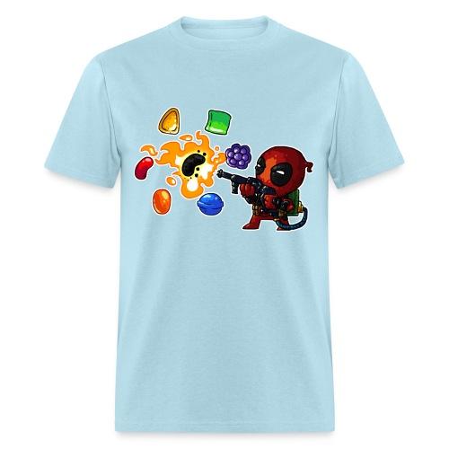 Men's T-shirt Deadpool vs. Candy - Men's T-Shirt