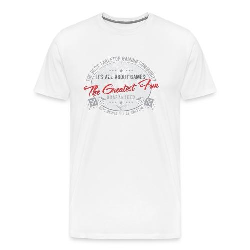 Board gamer t-shirt - Men's Premium T-Shirt