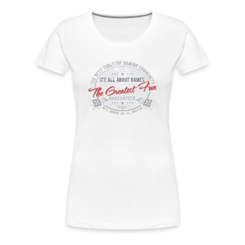 Board gamer t-shirt - Women's Premium T-Shirt