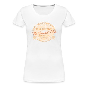 Board gamer t-shirt - Women's Premium T-Shirt