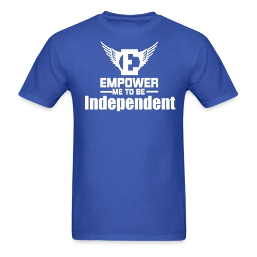 Empower Me To Be Independent Mens Tee Short Sleeve - Men's T-Shirt