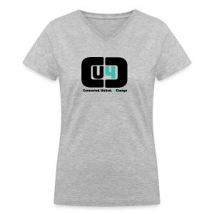 Women's CU4C T-Shirt - Women's V-Neck T-Shirt