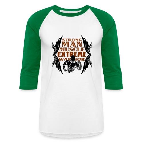 STRONGEST  - Baseball T-Shirt