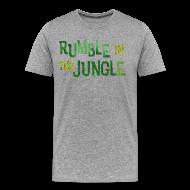T-Shirts ~ Men's Premium T-Shirt ~ rumble in the jungle