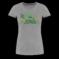 Women's T-Shirts ~ Women's Premium T-Shirt ~ rumble in the jungle