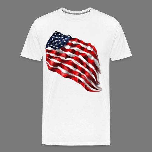 FLAG WAVER - Men's Premium T-Shirt