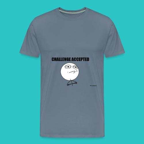 Challenge Accepted Shirt - Men's Premium T-Shirt