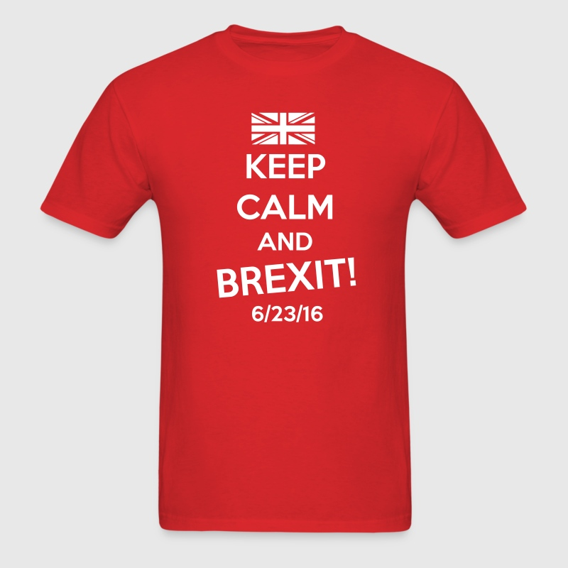 Keep Calm and BREXIT T-Shirts - Men's T-Shirt