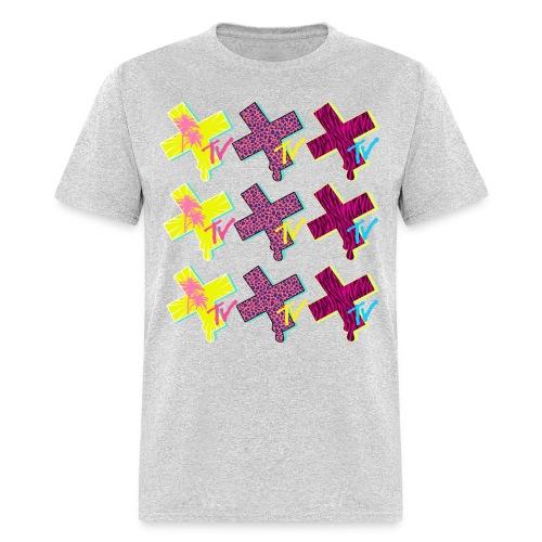 BC Studios XTV Stacked logo - Men's T-Shirt