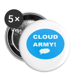 Cloud Army Small Buttons 5-Pack - Small Buttons