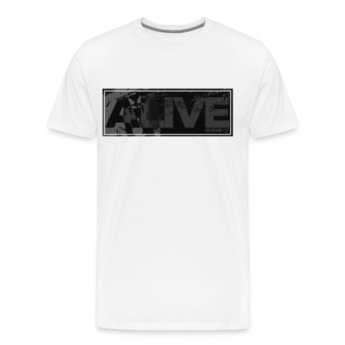 ALIVE - Lion Shirt - Men's Premium T-Shirt