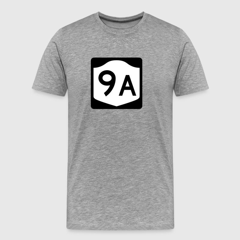 New York State Route 9A Shield T-Shirt - Men's Premium T-Shirt