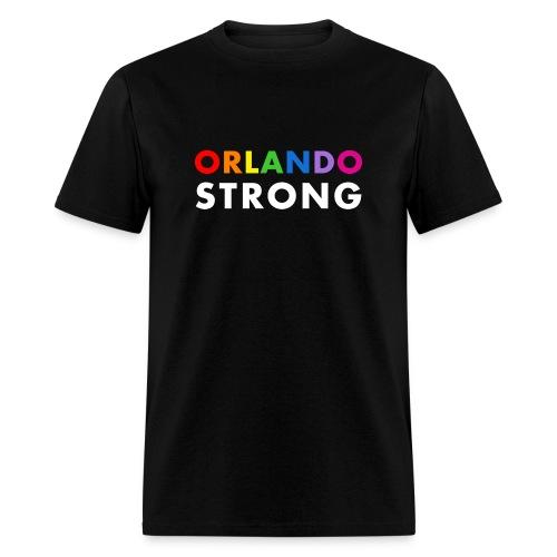 Orlando Strong - Men's Black T-Shirt - Men's T-Shirt
